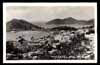 VIRGIN ISLANDS, St. Thomas, bird eye view, U.S.A., REAL PHOTO postcard, D.W.I.