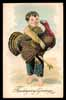 THANKSGIVING-DAY, turkey, embossed