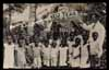 JAMAICA, Happy New Year 1933, children, REAL PHOTO postcard