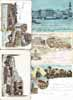 Lot of 15 postcards HUNGARY all LITHO
