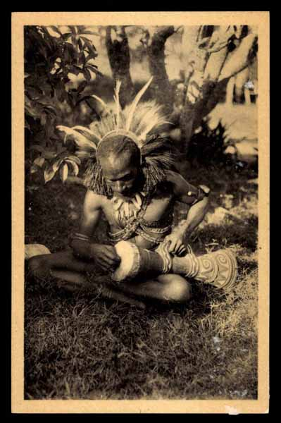 DUTCH NEW GUINEA, Meranke, ETHNIC type