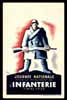 Journee Nationale Infanterie 1939, MAXIMUM postcard, premier jou,r First day
