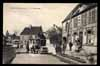 FRANCE, Pontgouin, La grande Rue, automobile, devant cafe, animé (28)