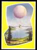 BALLON-Kurier, Wahlwies, Germany 1958, Postally used