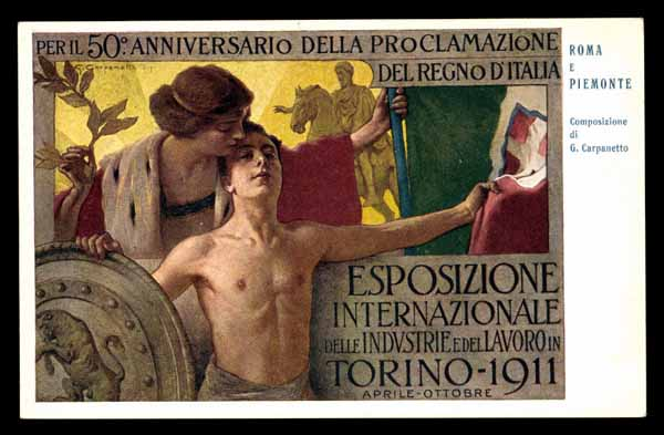 International EXPOSITION Torino 1911 Jugendstil