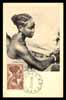 GUINEA-BISSAU, Jeune fille Bacongo, Maximum postcard