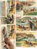 Lot of 21 postcards Etablissements AMOUROUX Freres,Tououse, French villages