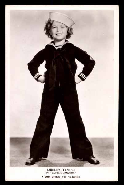 """SHIRLEY TEMPLE in \""""Captain january\"""""""