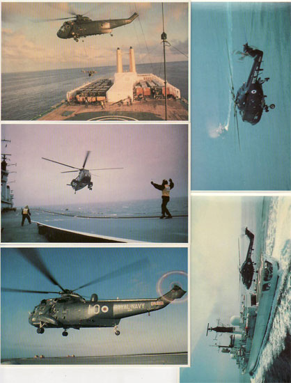Lot of 20 postcards FALKLAND TASK FORCE, airplanes, aviation