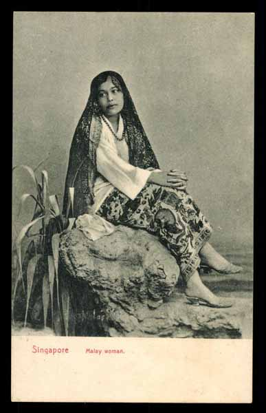 SINGAPORE, Malay woman, TYPE