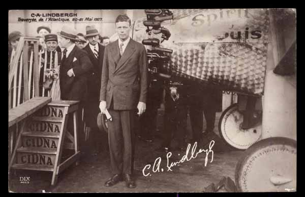 EARLY AVIATION, C. A. Lindbergh