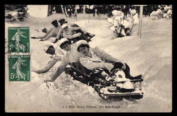 BOB-SLEIGH, winter sports