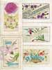 Lot of 14 postcards SAINTE CATHERINE, embroidered silk, real bonnet