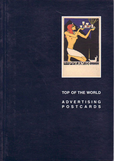 Top of the World adverting postcards