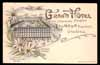 FRANCE, Grenoble, Grand Hotel Primat, LITHO (38)